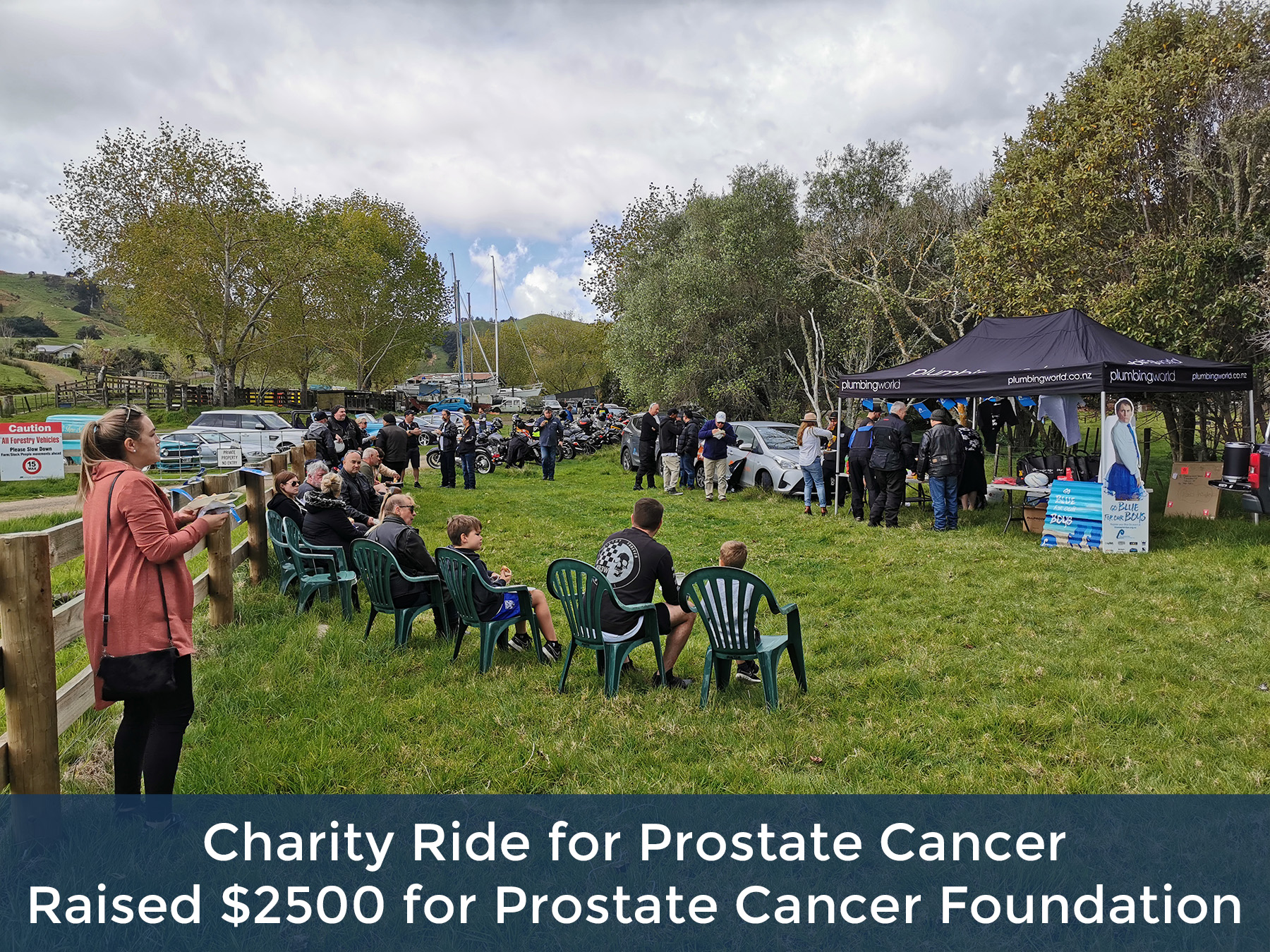 Charity Ride for Prostate Cancer