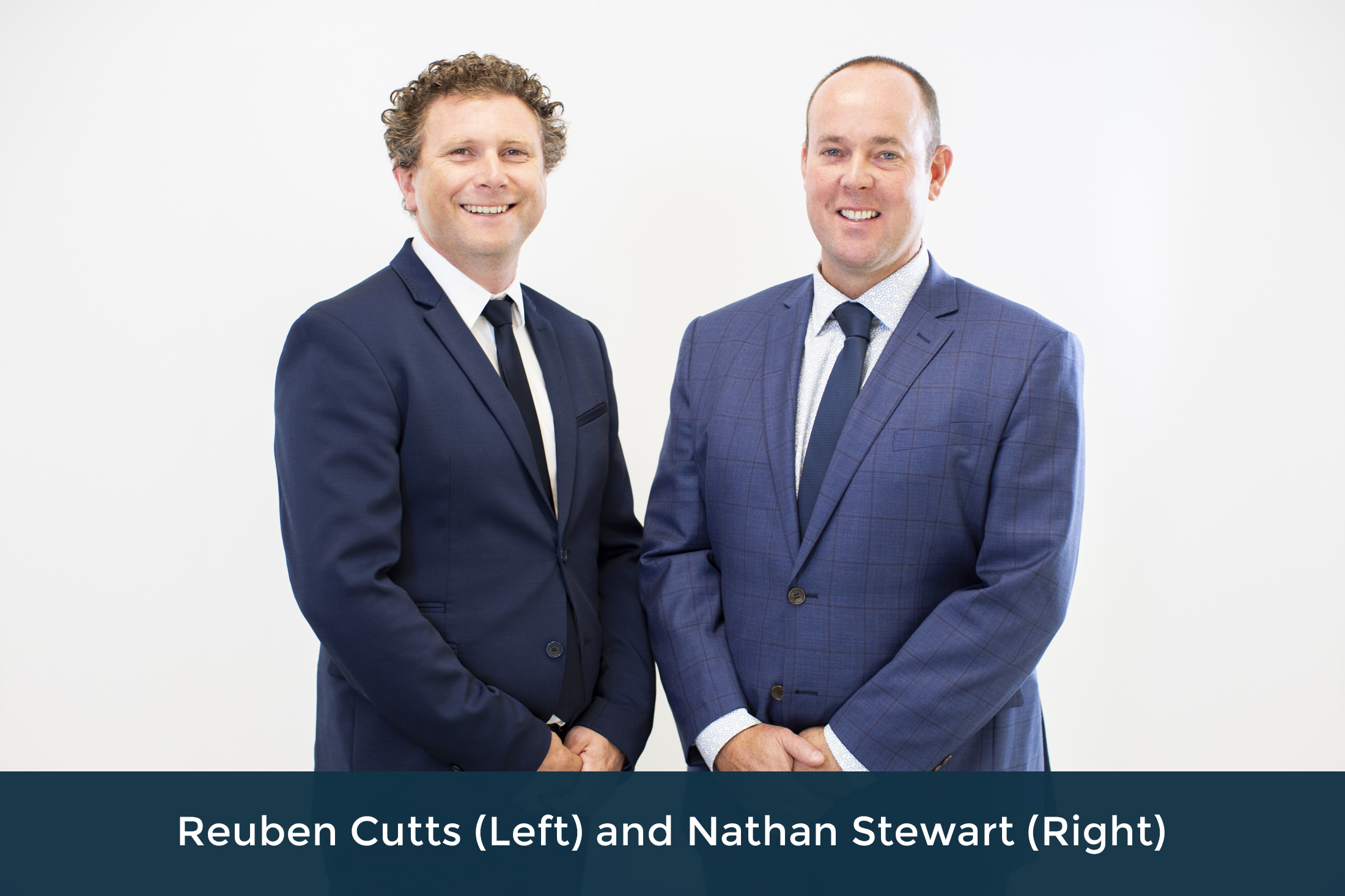 Reuben Cutts (Left) and Nathan Stewart (Right)